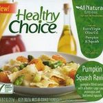 Healthy Choice Pumpkin Squash Ravioli