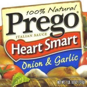 Prego Heart Smart Onion & Garlic Italian Sauce
