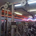 Life Fitness Dual Pulley Pull Down Machine