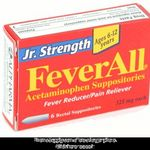 FeverAll Acetaminophen Suppositories