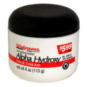 Walgreens Nature's Finest Alpha Hydroxy Face Cream