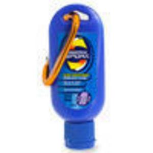 Coppertone Sport Sunblock Lotion with Caribiner SPF 30 1.5 oz