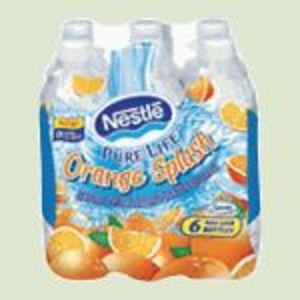 Nestle - Pure Life Orange Splash