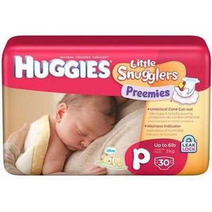 Huggies Little Snugglers Preemie Diapers