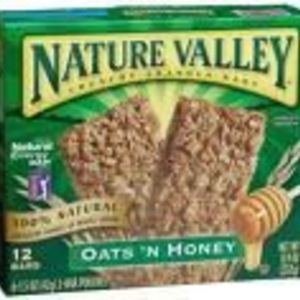 Nature Valley Oats 'N Honey Crunchy Granola Bars