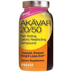 Akavar 20/50 Diet Pills