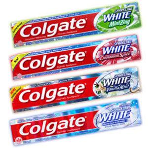 Colgate Sparkling White Cinnamint Toothpaste