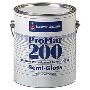 Sherwin Williams Promar 200 Interior Waterbased Acrylic Alkyd Paint