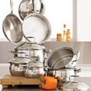 Tools of the Trade Belgique Gourmet Stainless Steel Cookware