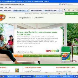 Zyrtec Website