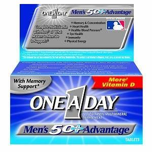 One A Day Men's 50+ Advantage