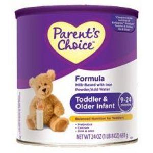 Parent's Choice Toddler & Older Infant Formula