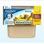 Gerber NatureSelect 1st Foods Bananas