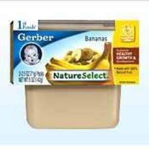 Gerber NatureSelect 1st Foods Bananas