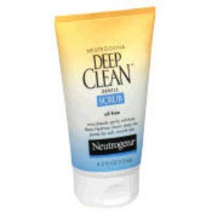 Neutrogena Deep Clean Gentle Face Scrub