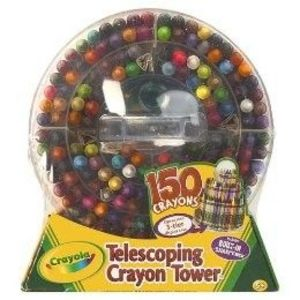 Crayola 150 Crayon Telescoping Tower