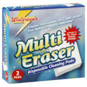 Walgreens Multi Eraser Disposable Cleaning Pads