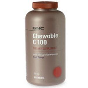 GNC C-100 Chewable Vitamins