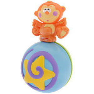 Fisher Price Go Baby Go! Crawl-Along Musical Ball