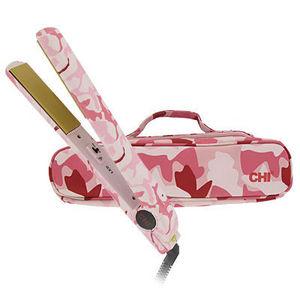 """Pink Camo 1"""" Flat Iron"""