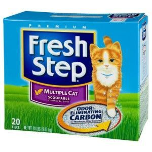 Fresh Step Clumping Cat Litter for Multiple Cats