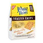 Kraft - Wheat Thins Toasted Chips Garden Valley Veggie