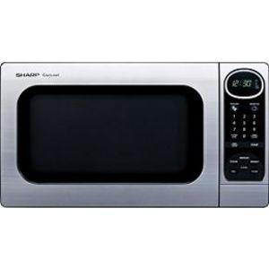 Sharp 1100 Watt 1.0 Cubic Feet Carousel Microwave Oven