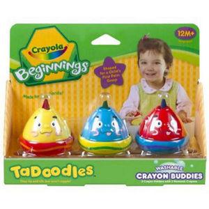 Crayola TaDoodles Washable Crayon Buddies