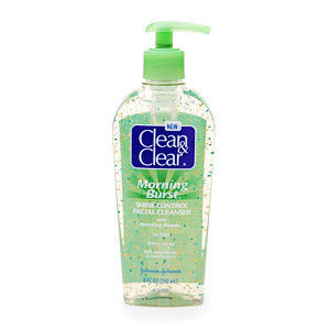 Clean & Clear Morning Burst Shine Control Cleanser