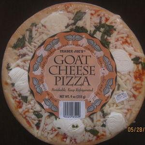 Trader Joe's Goat Cheese Pizza