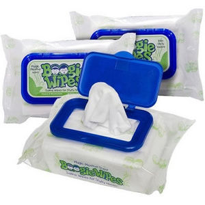 Boogie Wipes Gentle Saline Wipes - Magic Menthol