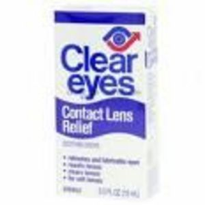 Clear Eyes Contact Lens Relief