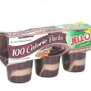 Jell-O - 100 Calorie Pack Pudding Snacks