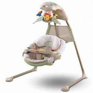 Fisher-Price Nature's Touch Papasn Cradle 'n Swing