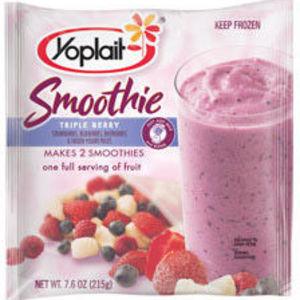 Yoplait Frozen Smoothie Mix - Triple Berry