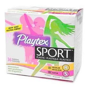 Playtex Sport, unscented