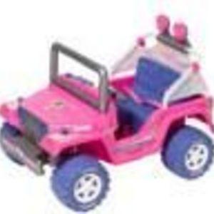 Fisher-Price Barbie Cruisin' Tunes Jeep Power Wheels