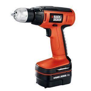 Black & Decker 12 Volt Cordless Compact Drill