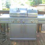 BBQTek Split Lid Gas Grill