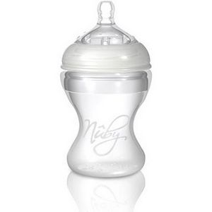 Nuby Natural Touch SoftFlex Silicone Baby Bottles