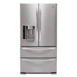 LG LMX21981S Stainless Steel (20.5 cu. ft.) Bottom Freezer French Door Refrigerator
