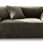 Sure Fit Stretch Sofa Cover (Pique/Taupe)