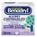 Benadryl Children's Allergy Chewable
