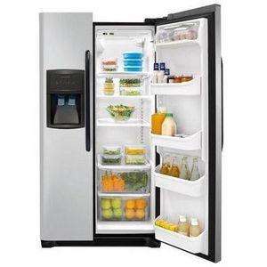 Frigidaire Silver Mist Side-By-Side Refrigerator