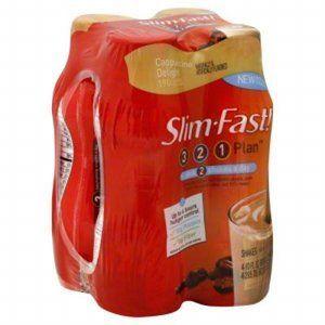 Slim-Fast Optima Cappuccino Delight Shakes