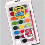 Crayola Washable Water Colors Paint