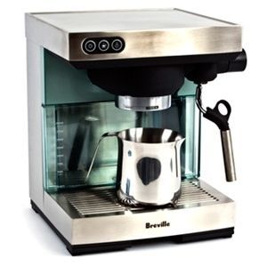Breville Ikon Espresso Machine Coffee Maker BES400XL