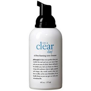 Philosophy On a Clear Day Foaming Acne Cleanser