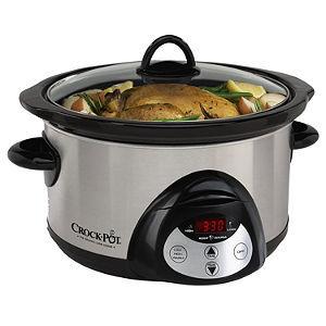 Rival Crock-Pot 5-Quart Countdown Slow Cooker