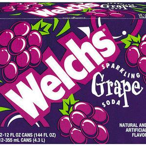 Welch's Sparlking Grape Soda